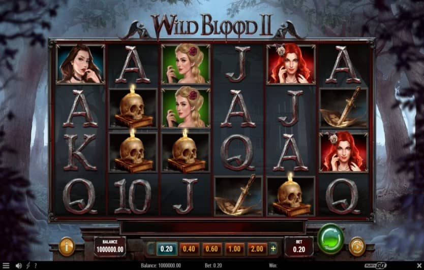 Wild Blood 2 Slot Game